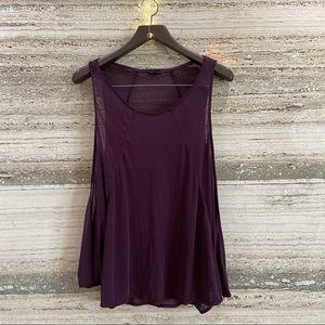 OYSHO Yoga Flowy Purple Top Size M fits all sizes.